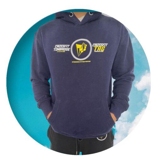 Dual logo CrossFit Tonbridge TAG hoodie